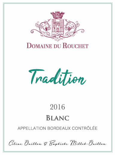 Domaine du Rouchet - Tradition - Blanc