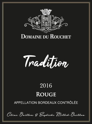 Domaine du Rouchet - Tradition - Rouge