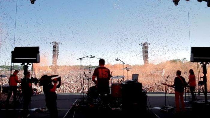 Tuborg lancerer musikvideo for det danske band The Minds Of 99 på årets Roskilde Festival