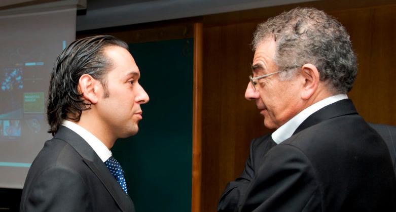 Roberto Verino y Javier Tresguerras