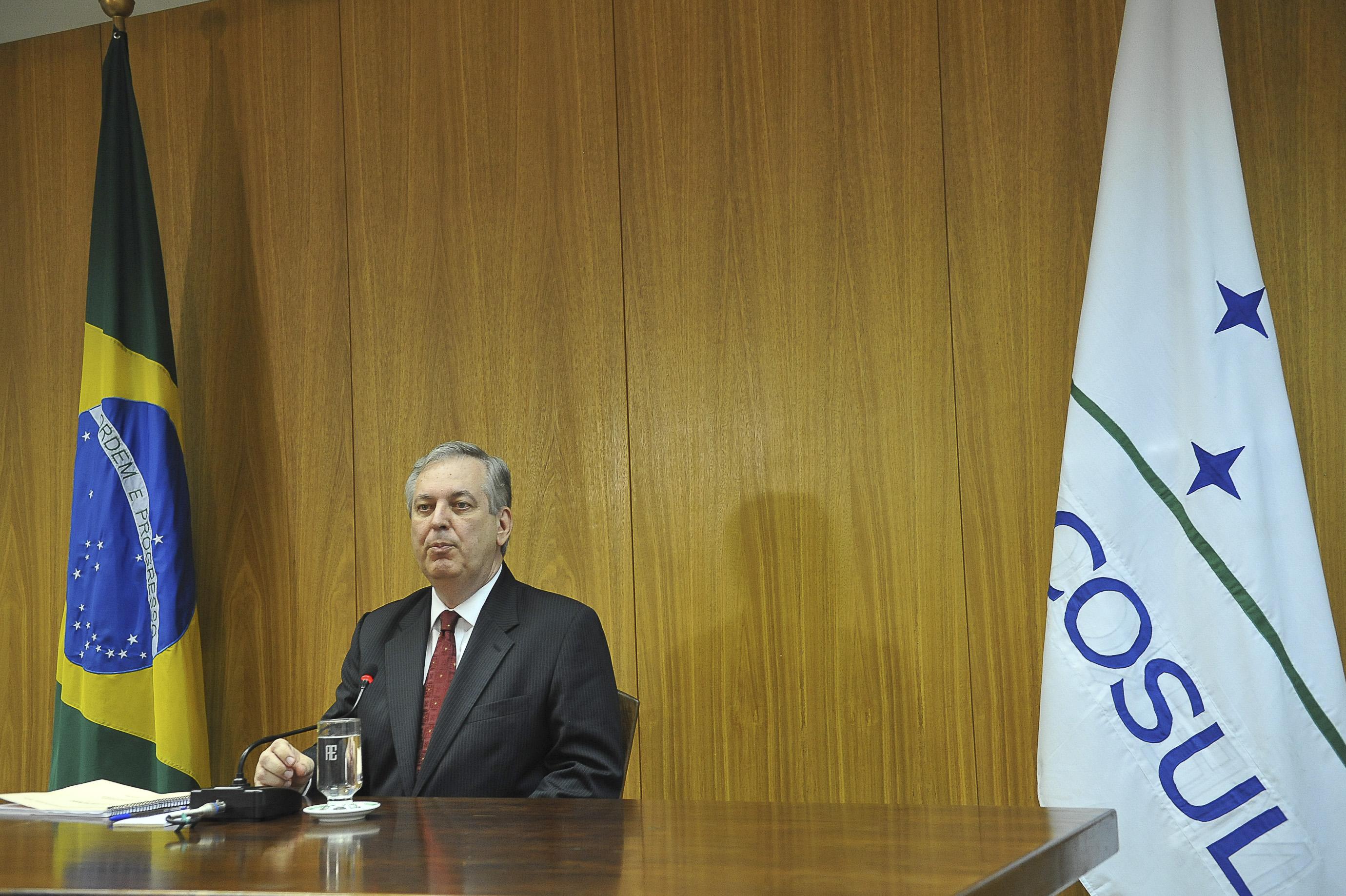 Secretário executivo da Comissão Nacional para a Conferência das Nações Unidas sobre o Desenvolvimento Sustentável (Rio+20), embaixador Luiz Alberto Figueiredo