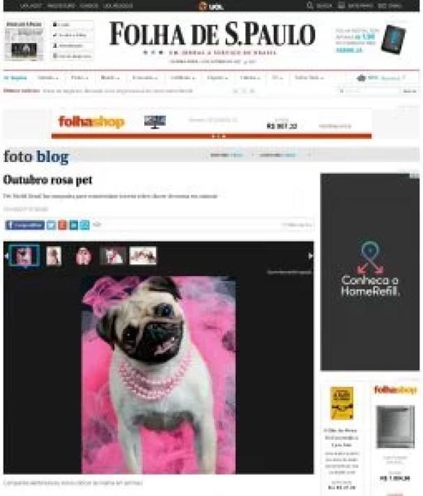 Galeria de fotos para a Folha de S. Paulo
