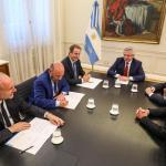 El Presidente firmó con Santa Fe, Entre Ríos y Formosa un acuerdo por deuda de la Anses