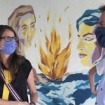 La Ministra Gómez Alcorta visitó la Casa de la Mujer de Escobar y dialogó con víctimas de violencia de género