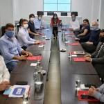 La ministra Frederic coordinó con intendentes de la Región Norte 2 acciones para controlar la cuarentena