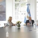 Unicef entregó al Presidente Fernández un informe sobre la situación en los asentamientos populares