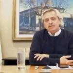 """Presidente Fernández: """"En no mucho tiempo más la economía va a funcionar a pleno"""""""
