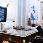 Sergio Massa y los jefes de bloques acordaron mantener el sistema remoto en la Cámara de Diputados de la Nación