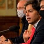 """Gobernador Kicillof: """"soy bastante optimista con el acatamiento de la cuarentena más estricta"""""""