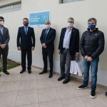 Zabaleta, Rossi, Perczyk y Merediz inauguraron el centro de Rehabilitación Respiratoria de la Universidad de Hurlingham