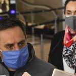 """El ministro Cabandié sobrevoló los incendios forestales en Córdoba y pidió """"mayor responsabilidad y ahínco en la agenda ambiental"""""""