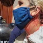 La Policía de Larreta reprimió hiriendo a enfermeros y enfermeras frente a la Legislatura porteña. Repudio del Frente de Todos