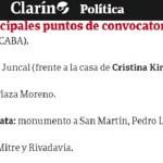 Contundente repudio de dirigentes del Frente de Todos a la convocatoria frente al domicilio de CFK