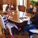 La Vicepresidenta Cristina Kirchner recibió a la madre de la policía asesinada en Quilmes