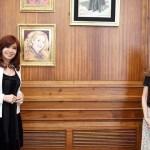 Cristina Kirchner recibió a Fernanda Raverta y analizaron el proyecto de Ley de Defensa de los Activos del FGS