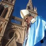 """Papa Francisco: """"desde aquí peregrino con ustedes a Luján"""""""