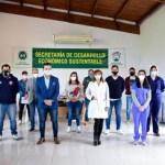 """Gustavo Menéndez lanzó en Merlo una campaña de donación de plasma: """"para nuestros hospitales y los de la región que lo necesiten"""""""