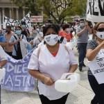 Trabajadores de salud porteños realizarán nuevas protestas en respuesta a la represión de la policía de Larreta