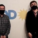 Máximo Kirchner recibió a Leo Nardini como parte de sus reuniones con intendentes del PJ