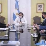 Santiago Cafiero encabezó el gabinete de Promoción Federal donde fijaron la agenda que se tratará en las capitales alternas