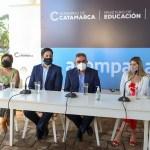 """Ministro Trotta desde Catamarca: """"la vacunación creciente nos permitirá intensificar la presencialidad del ciclo lectivo"""""""