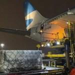 El vuelo de Aerolíneas Argentinas que trae la segunda tanda de 300000 dosis de vacunas Sputnik V llega este sábado a Ezeiza