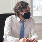 """Santiago Cafiero destacó la Campaña de Vacunación: """"Ya llevamos 370 mil vacunas aplicadas"""""""