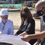"""María Luján Salgado visitó la obra de puesta en valor de la Plaza """"La Amistad"""": """"Recuperación del espacio público en Tortuguitas"""""""