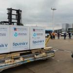 Arribó de Rusia el noveno lote de 370.000 dosis de vacunas Sputnik V