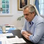 El presidente Fernández aislado en Olivos: «está asintomático, estable y con parámetros dentro de rangos de normalidad»