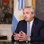 """Presidente Alberto Fernández: """"Me siento bien y por suerte la vacuna generó anticuerpos"""""""
