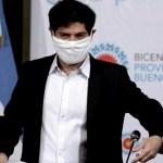 """Gobernador Kicillof: """"En la provincia de Buenos Aires ya llevamos aplicadas más de 1 millón y medio de vacunas"""""""