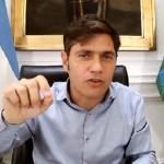 El gobernador Kicillof advirtió sobre una falsa convocatoria para vacunarse en Tigre