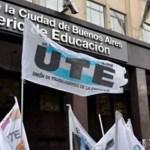 La UTE convocó el séptimo paro consecutivo para el lunes al gobierno de Larreta por ignorar el DNU presidencial para detener los contagios