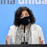 Advertencia de la ministra Vizzotti: «La situación es crítica, la más preocupante desde que empezó la pandemia»