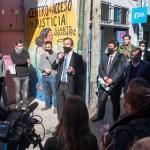 """Ministro Soria desde el Barrio 31: """"Es muy importante que el Estado nacional tenga presencia en los barrios populares de la CABA"""""""