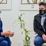 Gustavo Menéndez recibió a la ministra Gómez Alcorta: «Merlo adhiere al Programa ACOMPAÑAR»