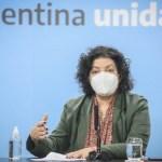 Ministra Vizzotti sobre las vacunas contra el coronavirus: «Ninguna dosis de ninguna vacuna vence»