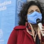 La ministra Vizzotti anunció un acuerdo con Sinopharm para adquirir 24 millones de vacunas