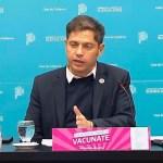 """El gobernador Axel Kicillof anunció que el Área Metropolitana de Buenos Aires """"pasa a fase 4"""""""