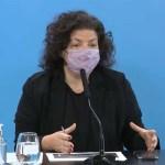 Ministra Vizzotti: «Quienes se vacunan no solo reciben un beneficio individual, sino que aportan al bien colectivo»