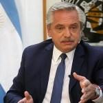 """Presidente Fernández: """"En la esencia de Macri no está valorar la democracia"""""""