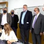 Manzur junto a ministros del Gabinete inauguraron obras escolares en Avellaneda