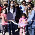 Noe Correa inauguró nuevos pavimentos en Villa de Mayo