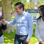 El ministro Nardini y la intendenta Noe Correa inauguraron la plaza «12 de Octubre» en barrio El Sol de Malvinas Argentinas