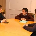 El ministro Leo Nardini recibió a senadores provinciales