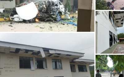Camioneta con explosivos ingresó a la Brigada 30 de Cúcuta con supuestos funcionarios públicos: Mindefensa