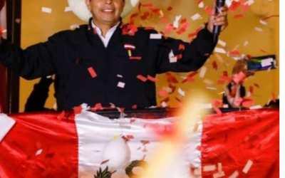 Perú ya tiene Presidente. Profesor Pedro Castillo proclamado  por el JNE
