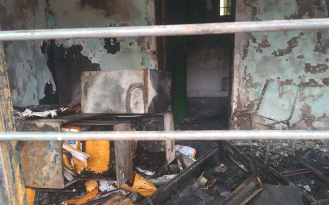 Incinerada inspección de Villacarmelo zona rural de Cali