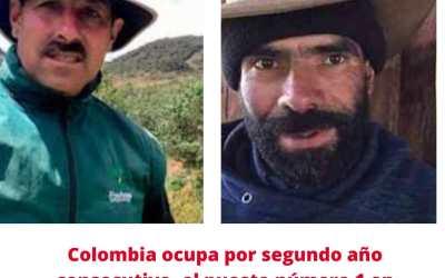 Por segundo año consecutivo Colombia ocupa el priemer lugar, en el mundo, en asesinatos de líderes ambientales